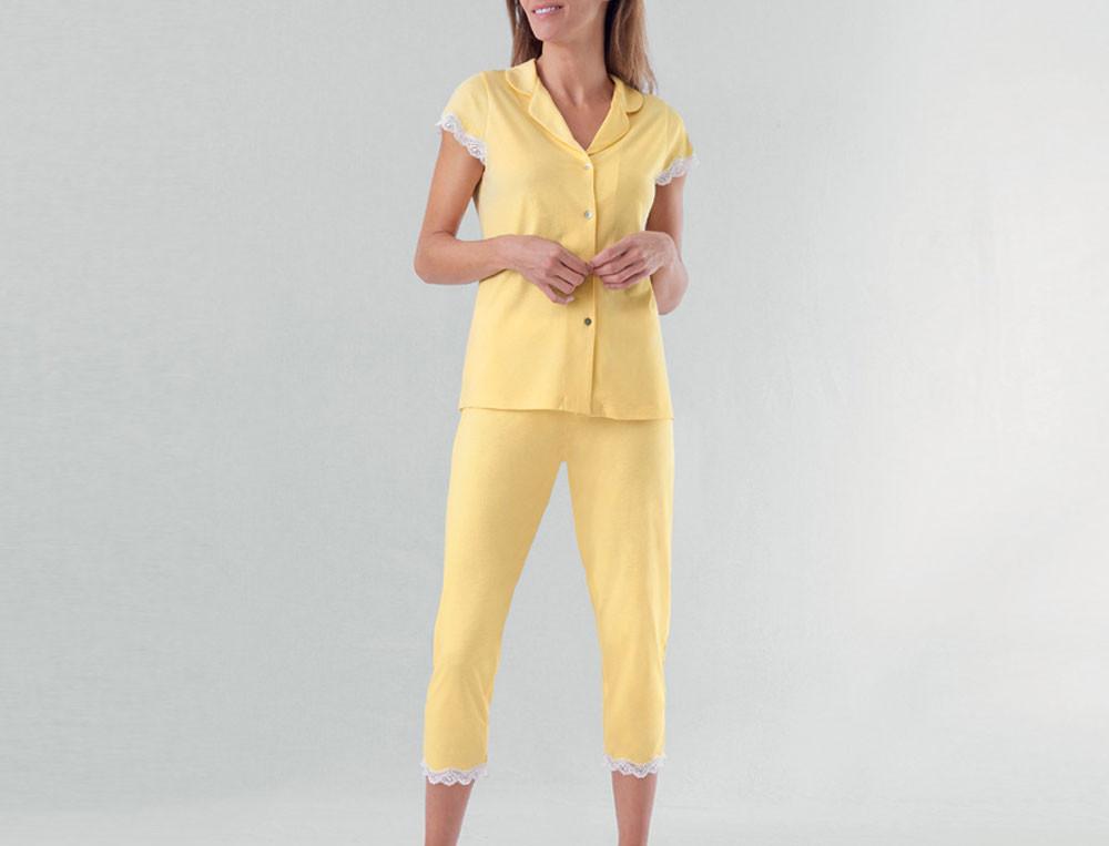 Pyjama Blumenduft Linvosges