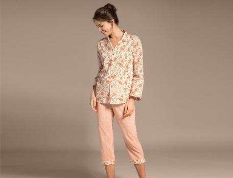 Pyjama Bombay Baumwolle Linvosges