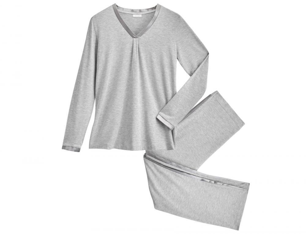 Pyjama jersey gris chiné Budapest