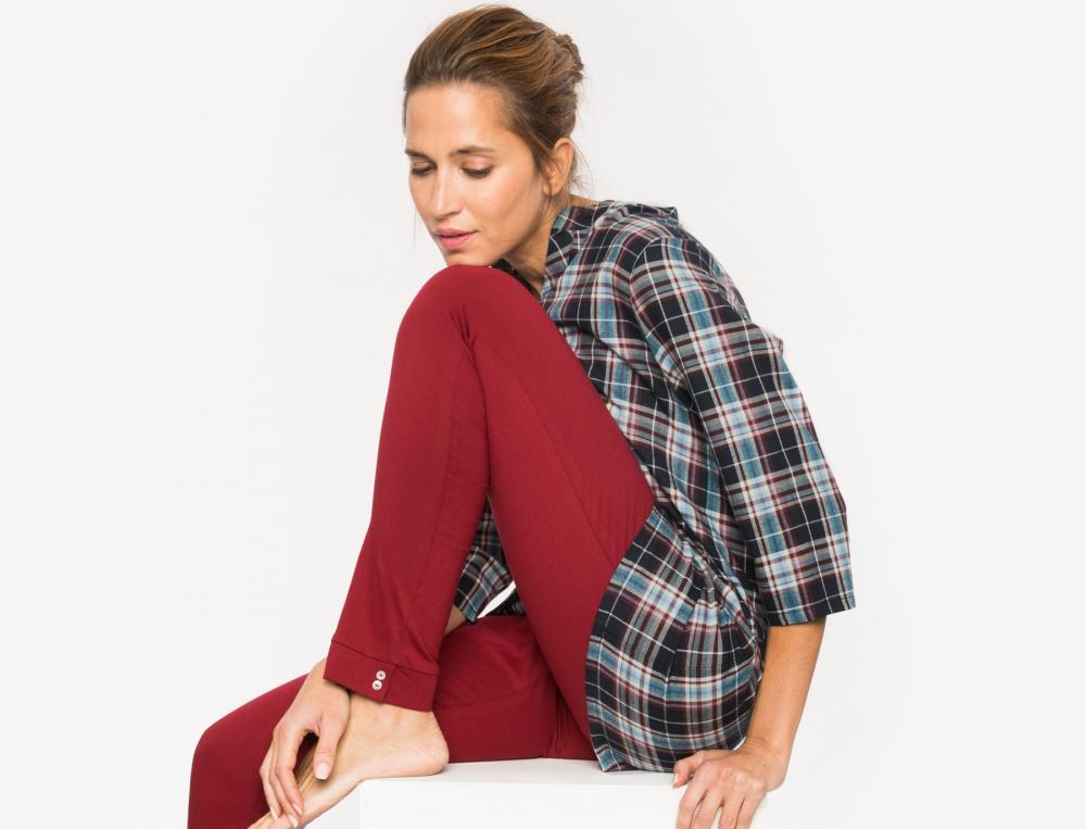 Pyjama écossais Duo cosy
