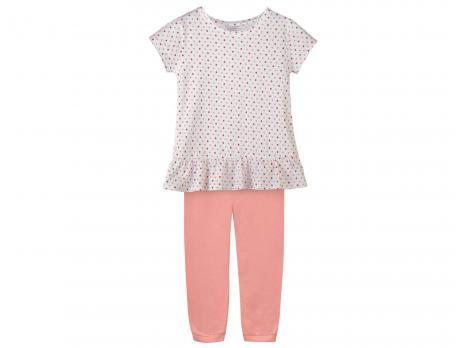 Pyjama enfant fille imprimé Accroche lune