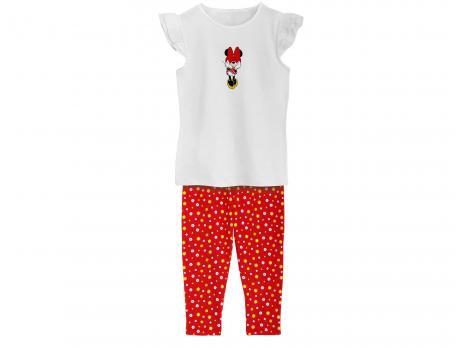 Pyjama enfant fille en jersey Minnie