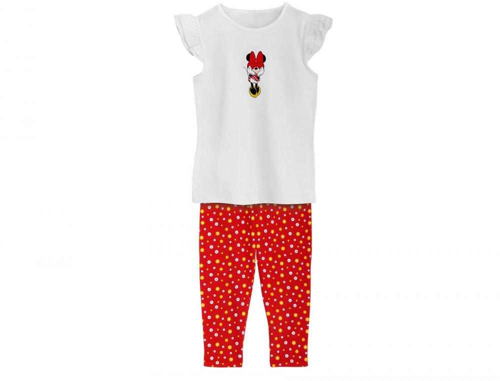 Pyjama enfant fille en jersey Minnie