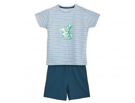 Pyjashort rayé enfant garçon Château fort