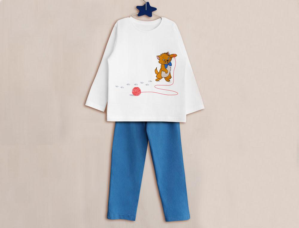 Pyjama enfant garçon Les Aristochats