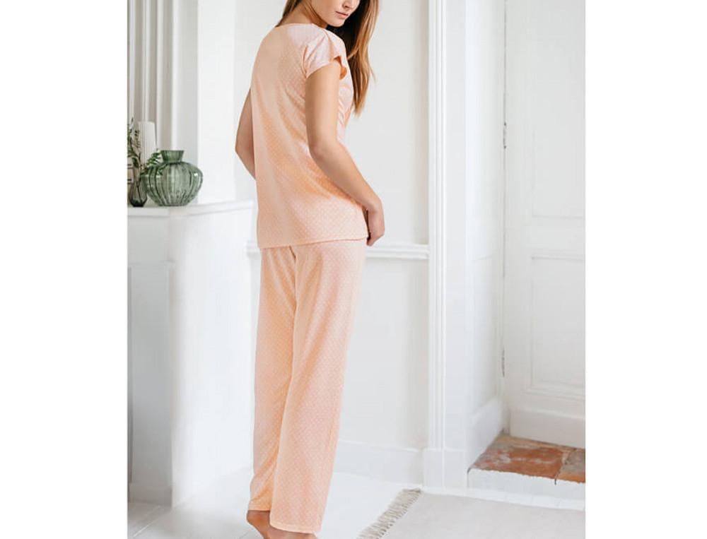 Pyjama jersey coton et modal imprimé Esprit zen