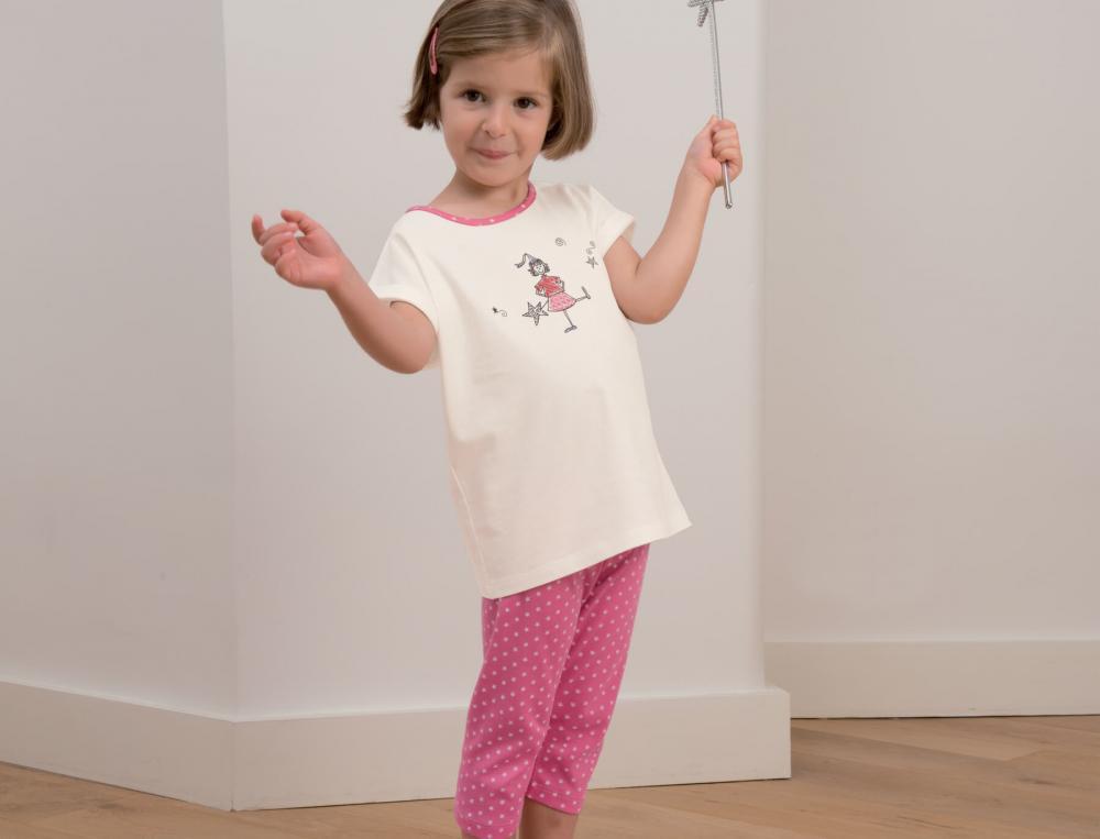 Pyjama enfant fille Les petites fées