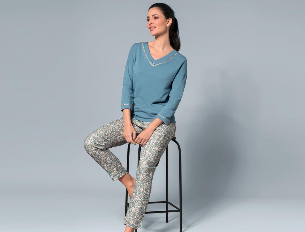 Pyjama Fleur d'Amélia
