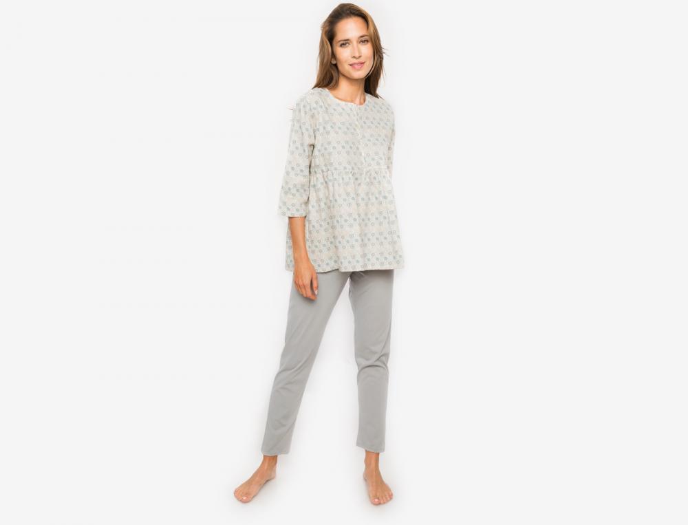 Pyjama imprimé Fleur des neiges