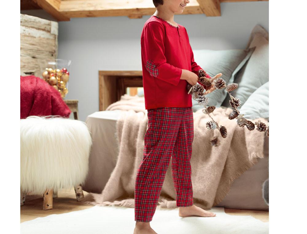 Pyjama enfant garçon Premiers flocons