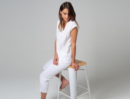 Pyjama Große Liebe Baumwolle Linvosges
