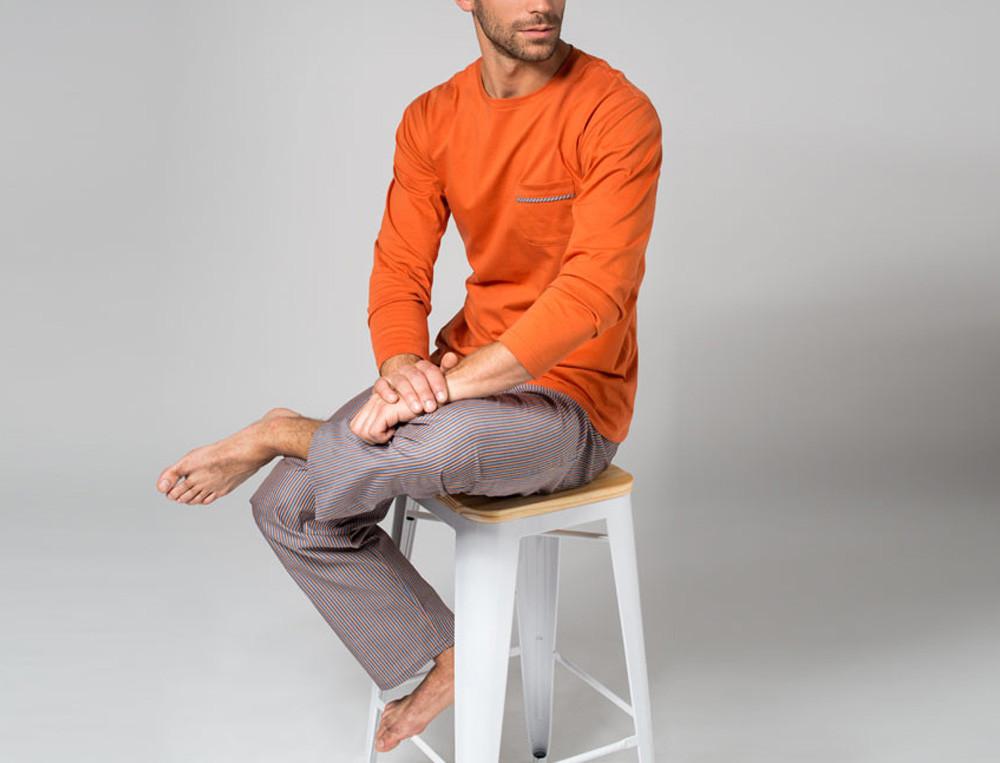 Pyjama homme 100% coton À Manhattan