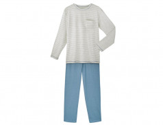 Pyjama homme jersey Bleu horizon