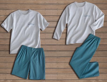 Pyjama et pyjashort homme Du côté de Belle-Île