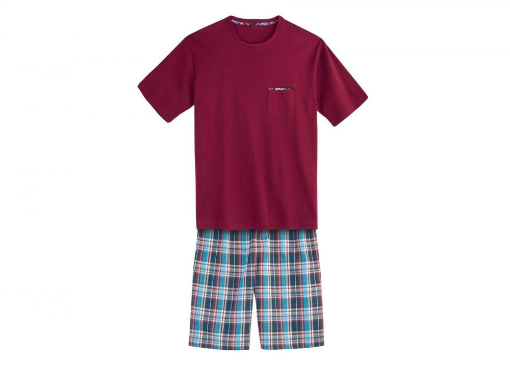Pyjama homme écossais et uni Duo cosy