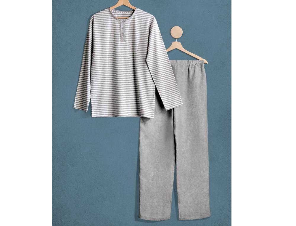 Pyjama et pyjama short homme lin et coton En Camargue