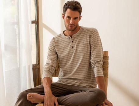 Pyjama homme jersey 100% coton Histoire de famille