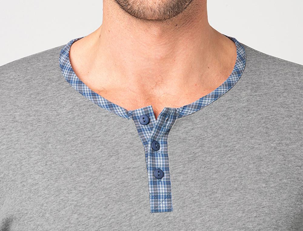 Pyjama homme 100% coton Souffle d'encre