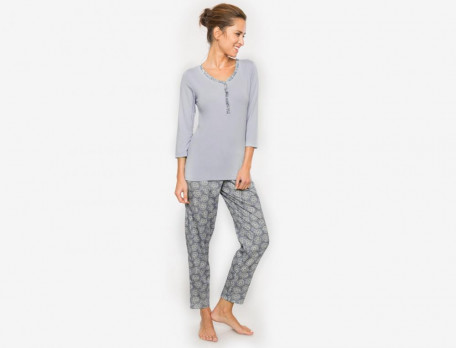 Pyjama Hortensienblüte Linvosges
