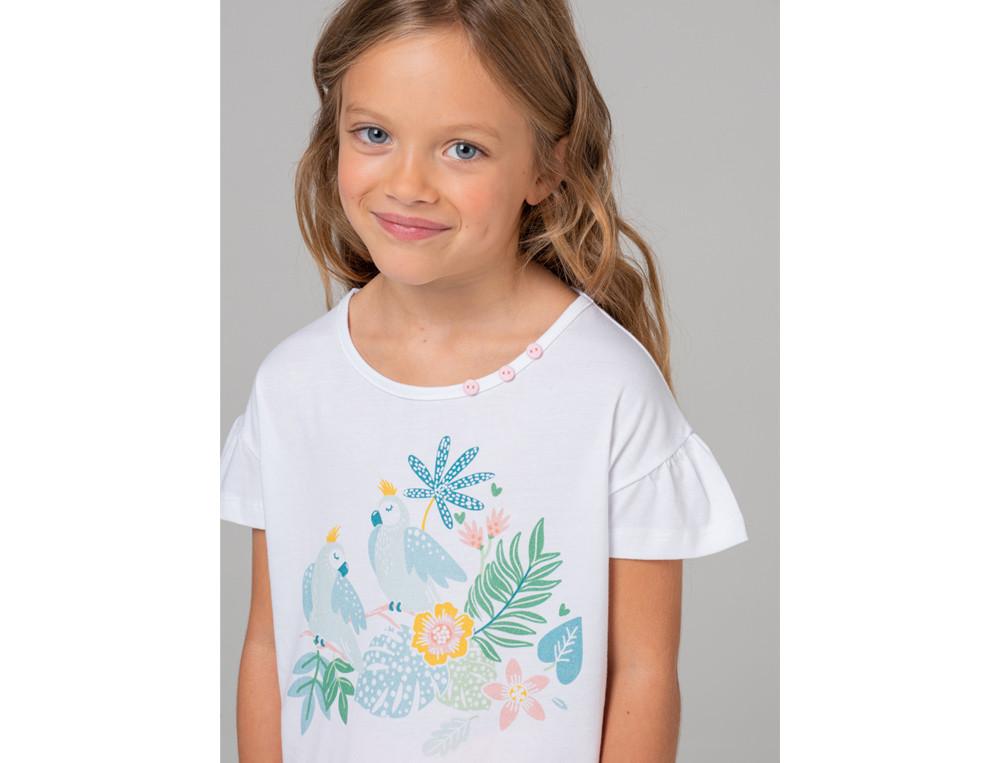Pyjama Kleiner Papagei Baumwolle Linvosges