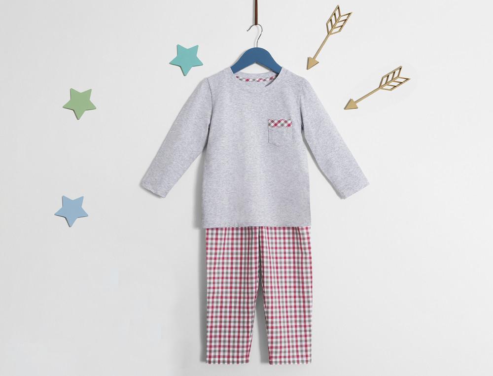 Pyjama Kleiner Spaziergang Baumwolle Linvosges