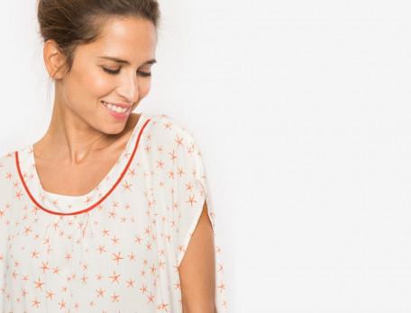 Pyjama Korallenriff Viskose Linvosges