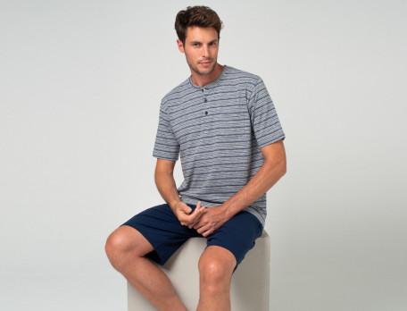 Pyjama-kurz Ontario Linvosges
