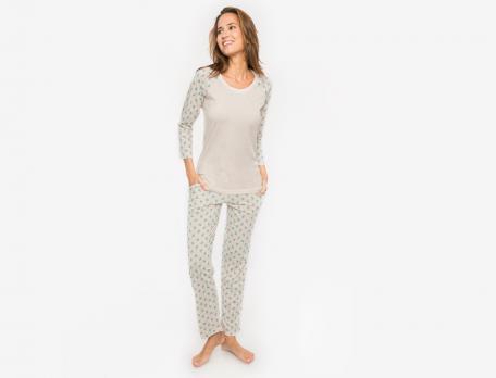 Pyjama L'île aux colibris modal et coton