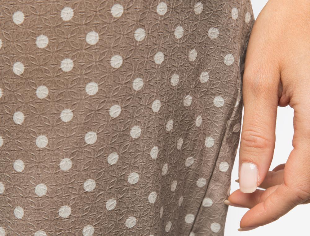 Pyjama jersey et imprimé pois L'Orientale