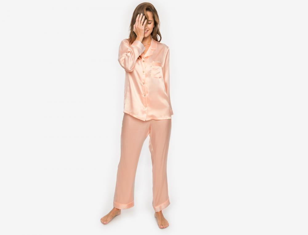 Pyjama en soie La Scala