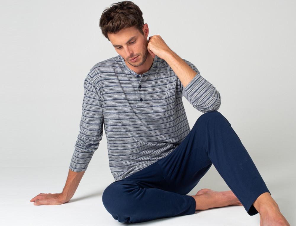 Pyjama-lang Ontario Linvosges