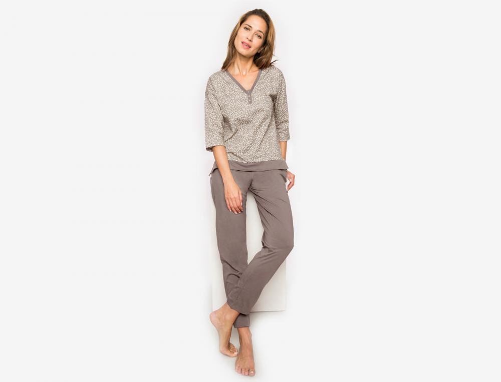 Pyjama femme jersey Masaï Mara