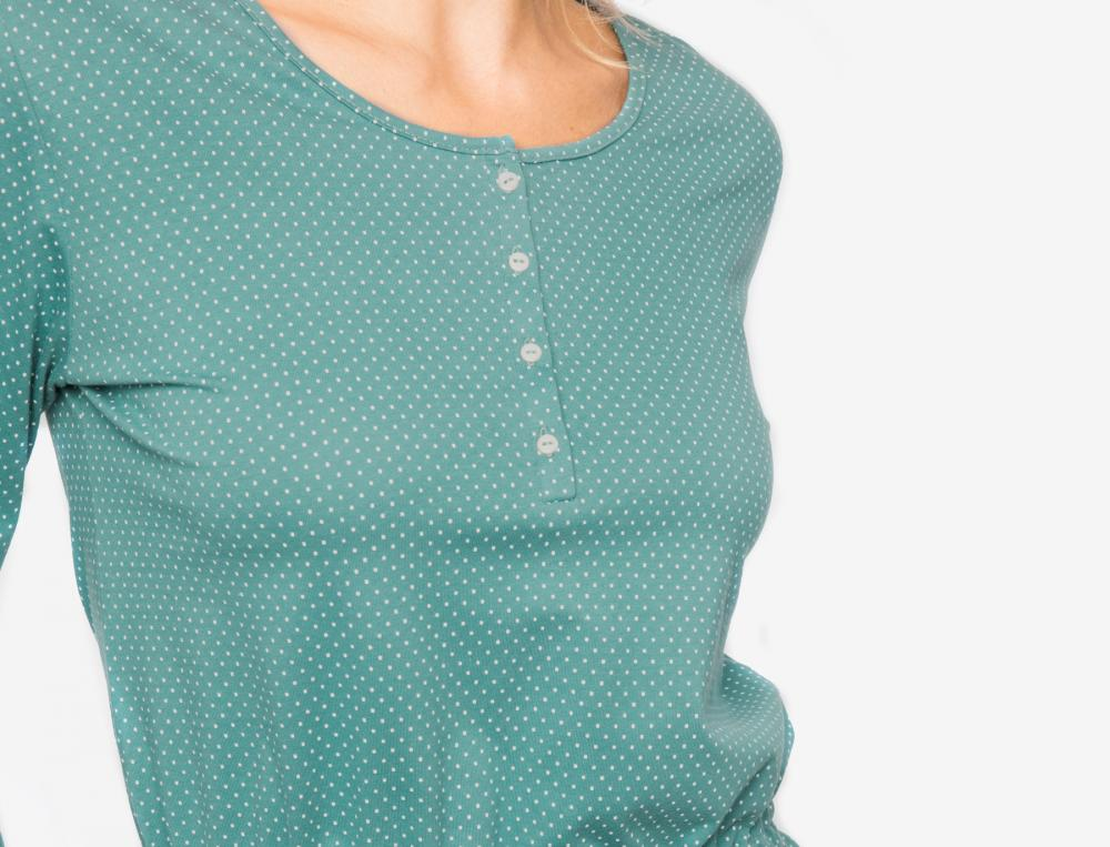 Pyjama à base de fibres naturelles Perles d'émeraude