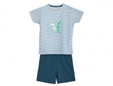 Pyjama Ritterburg Linvosges Jersey Baumwolle