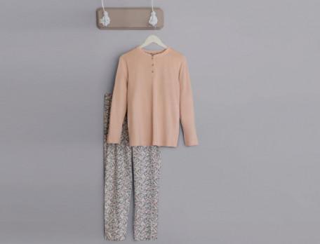 Pyjama Rosarote Träume Linvosges