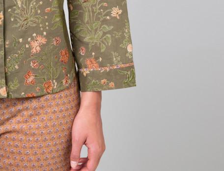 Pyjama Schmuckstück Baumwollvoile Linvosges