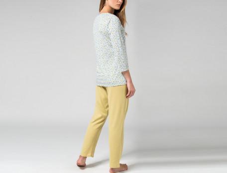 Pyjama Smaragd Linvosges