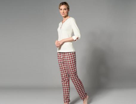 Pyjama Tandem Baumwolle - Linvosges