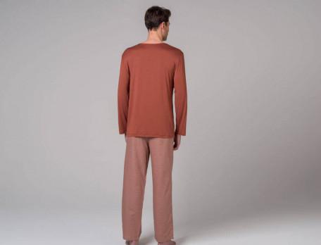 Pyjama Toronto Baumwolle Linvosges