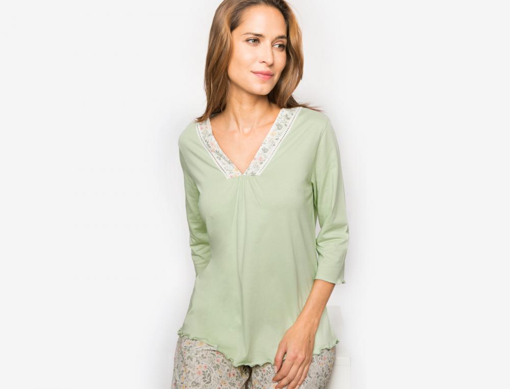 Pyjama et Pyjashort Villa mimosa