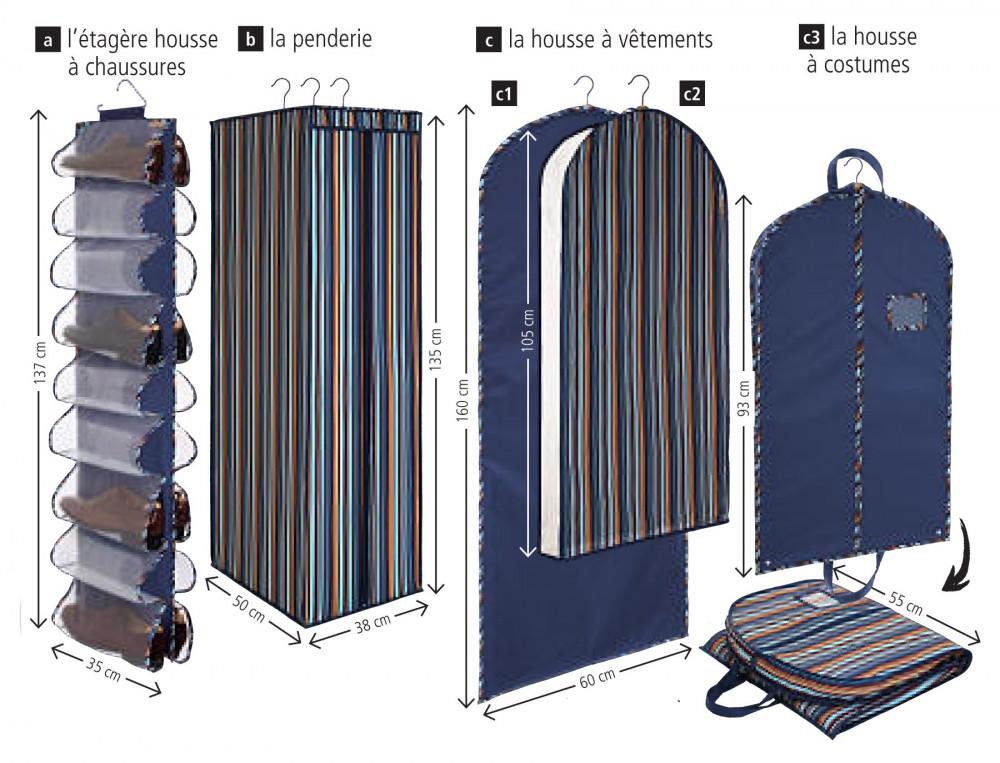 Rangement Vestiaire 100% polyester