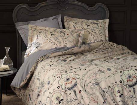 Linge de lit Rêve d'Ispahan percale imprimée 100% coton