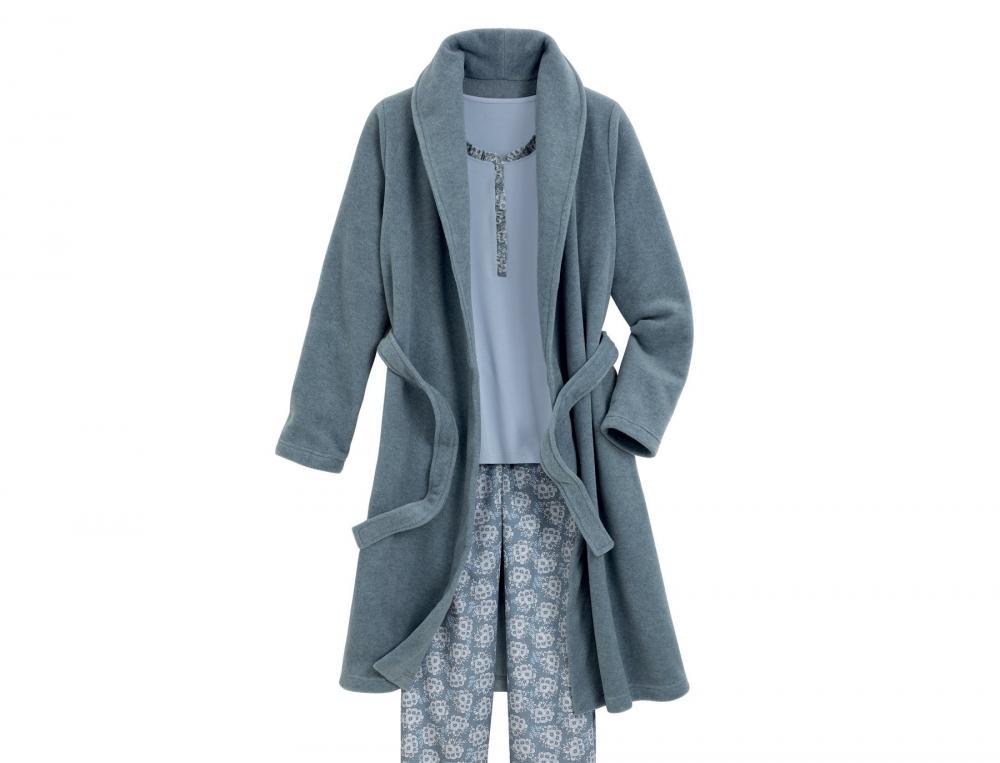 Robe de chambre femme et kimono femme linvosges - Robe de chambre personnalisee ...