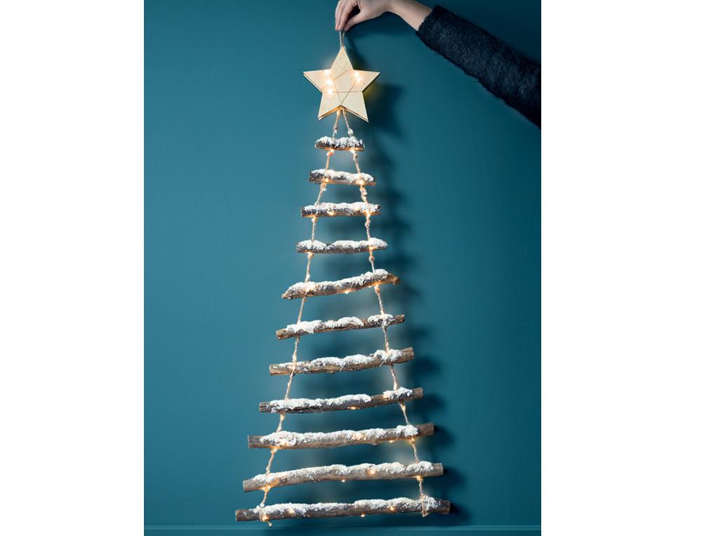 Déco noël Sapin lumineux à suspendre Esprit de Noël