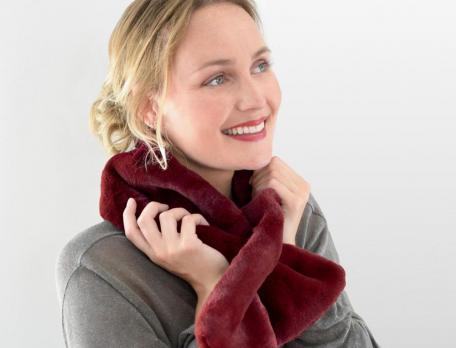 Schal aus Kunstpelz Festtag Linvosges