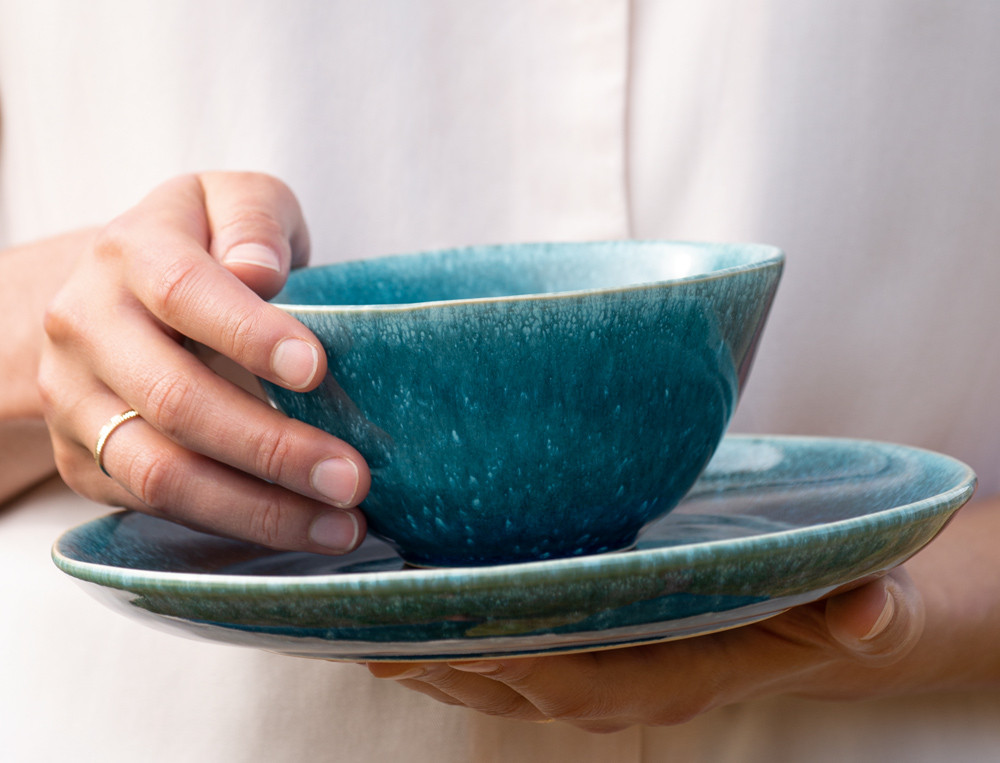Schüsseln Reise nach Indien Keramik Linvosges