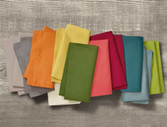 Serviette couleurs de table