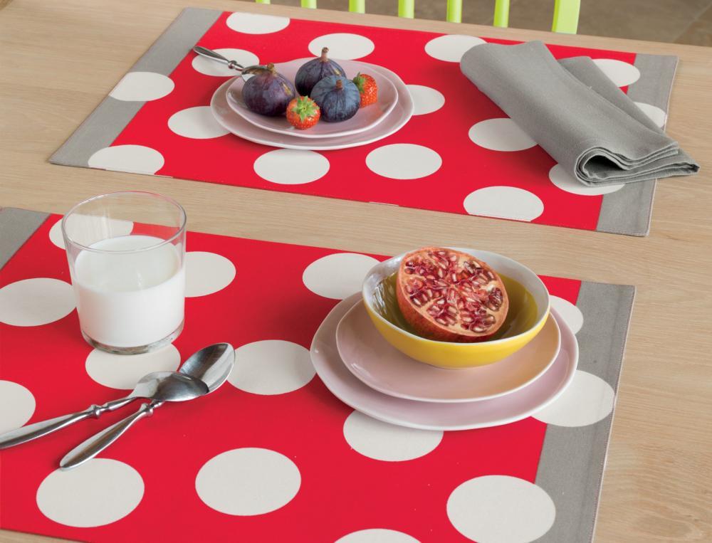 Set de table double face Chef en cuisine