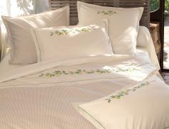 Linge de lit Sieste à Menton percale 100% coton