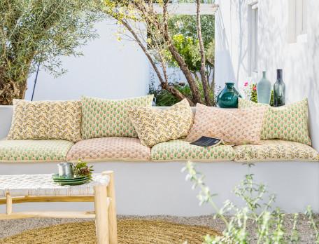 Sitzkissen Auf der Veranda - Linvosges